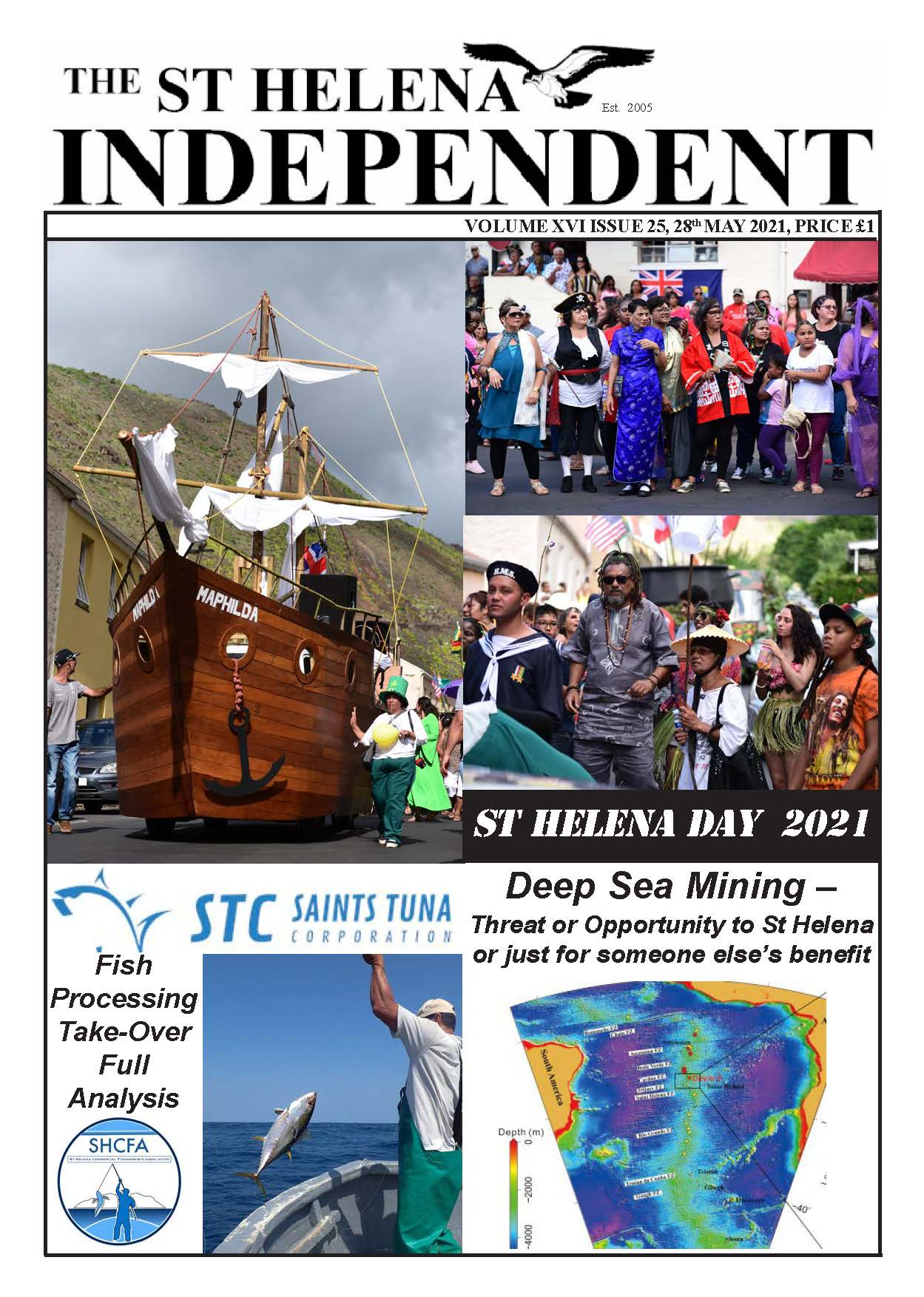 St Helena Independent 20210528 p1