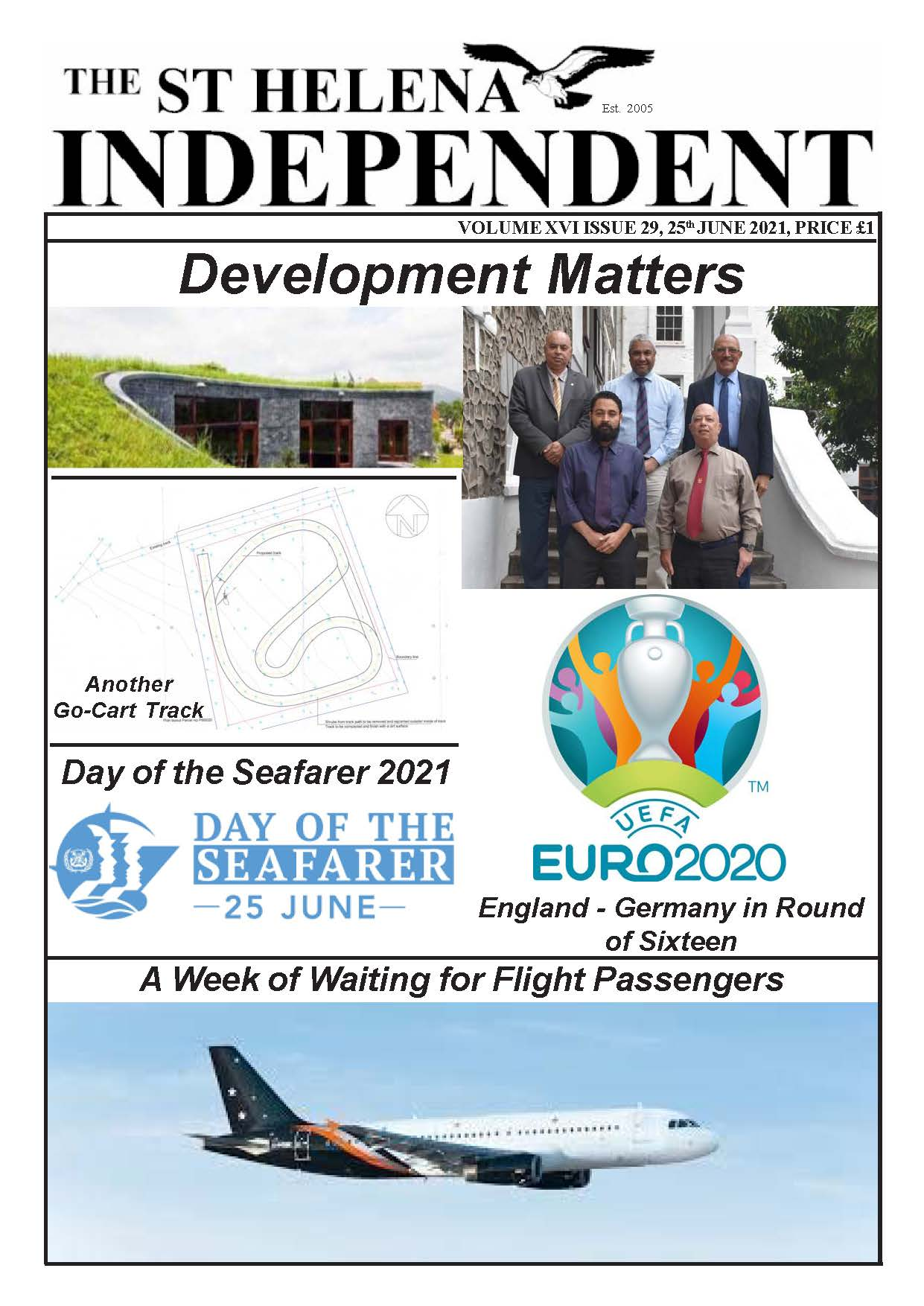 St Helena Independent 20210625 page 1