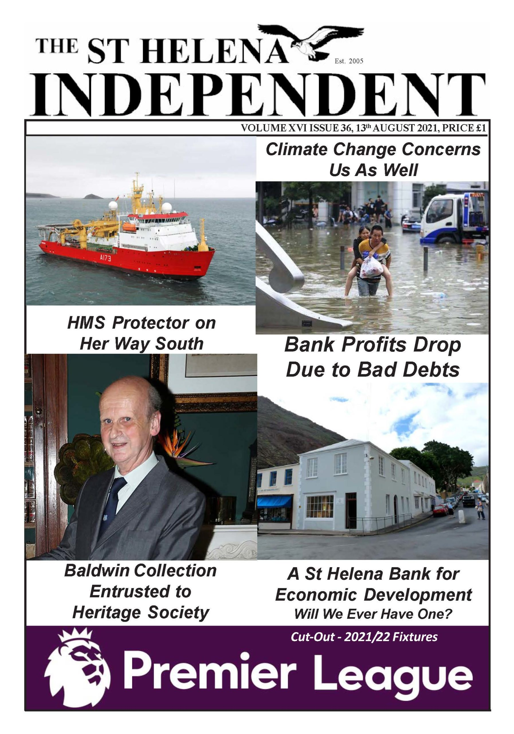 St Helena Independent 20210813 p1