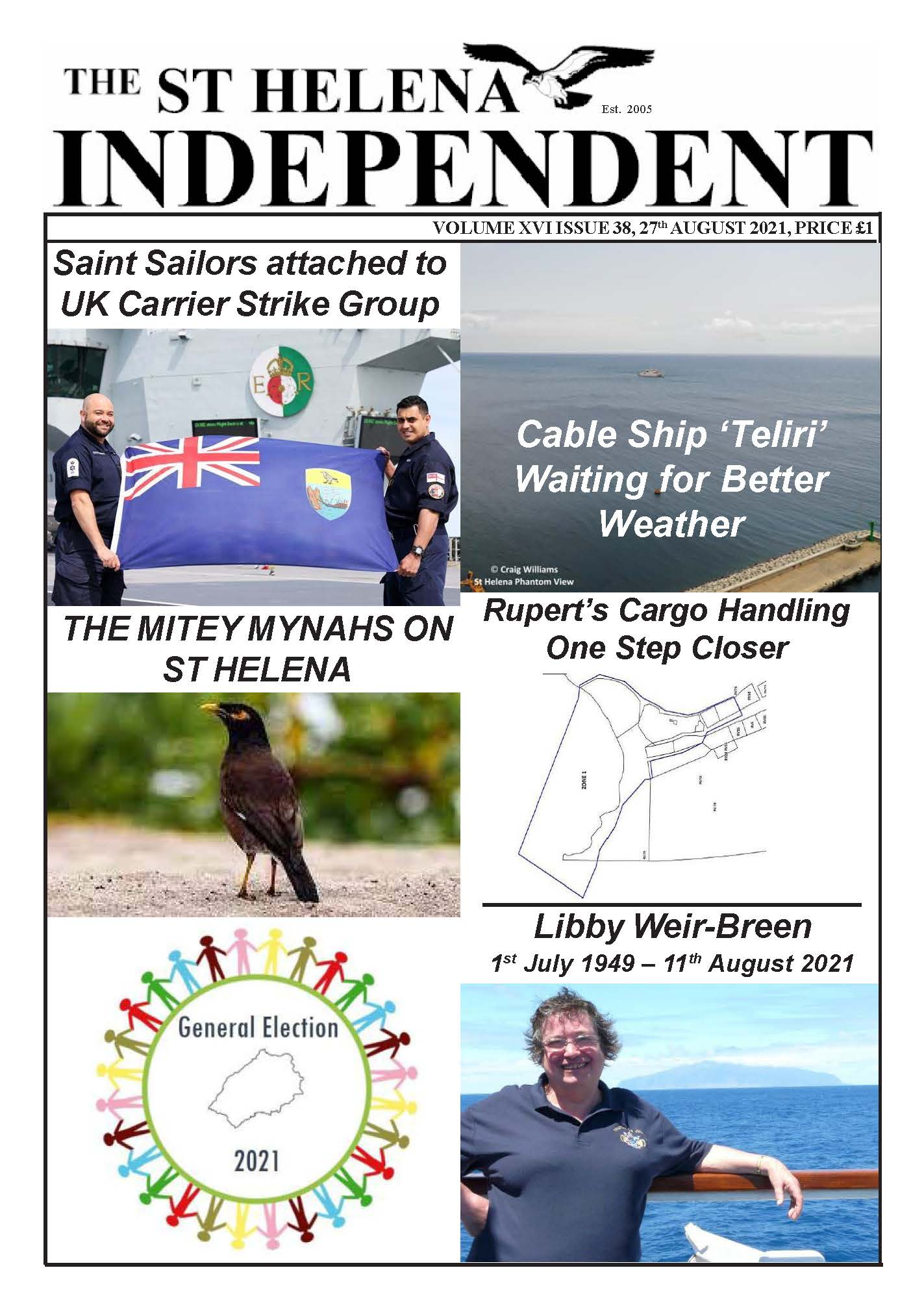 St Helena Independent 20210827 p1