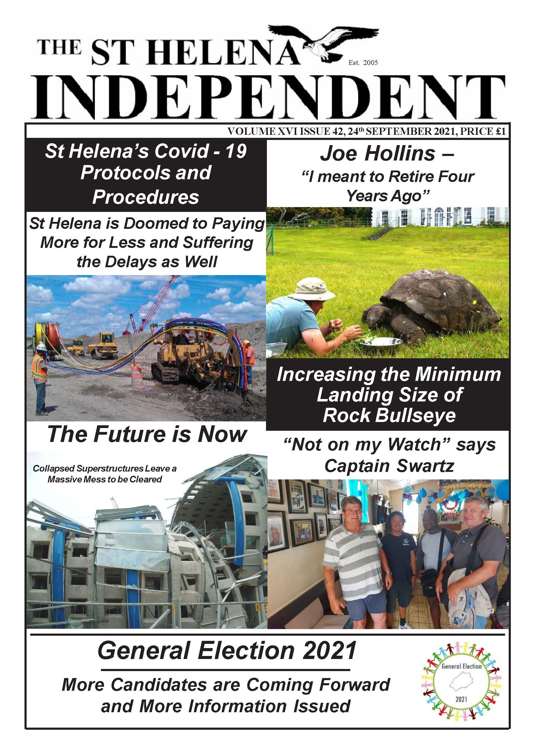 St Helena Independent 20210924 p1